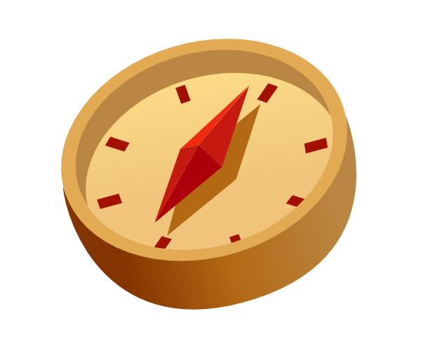 Icon clip art at. Clock clipart compass