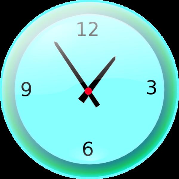 Pinart five o powerpoint. Clock clipart cute