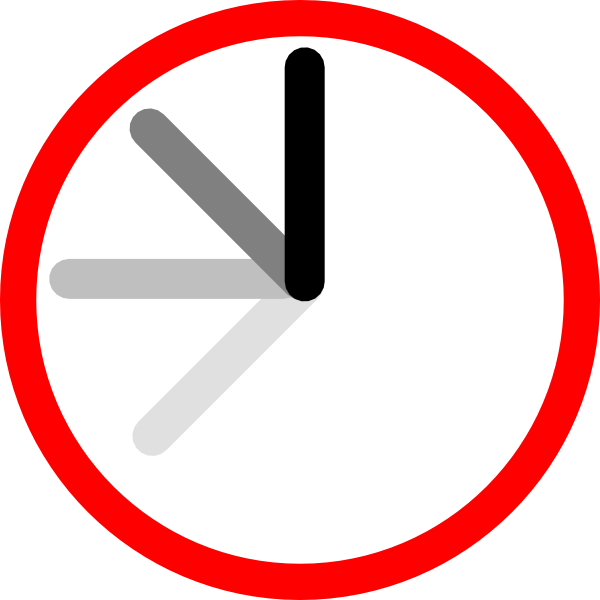Ticking clock clip art. Clocks clipart frame