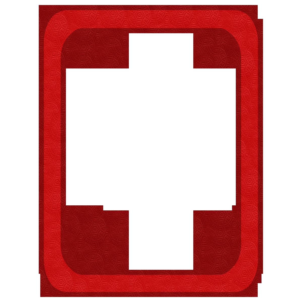 Red frames png kit. Newsletter clipart vintage newspaper