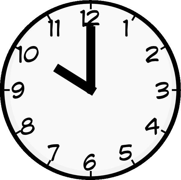 Clock clipart half hour.  o clip art