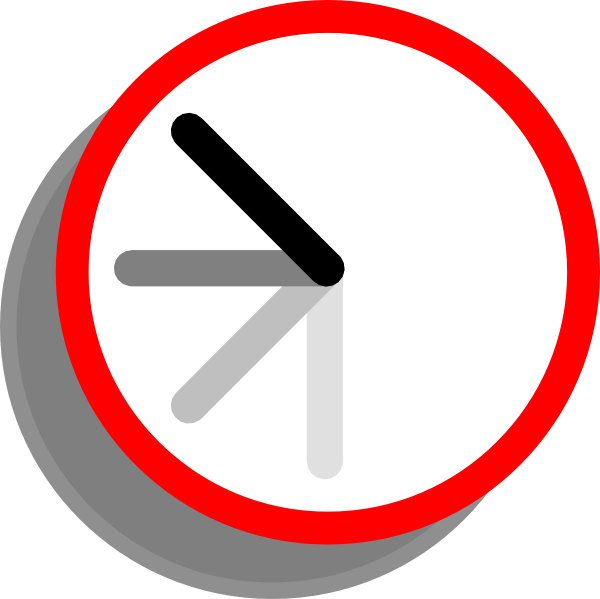 Clock clipart half past. Ticking gallery by alexander
