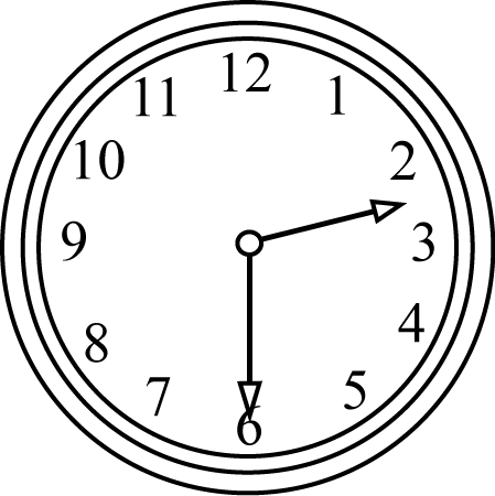 Black and white the. Clock clipart half past