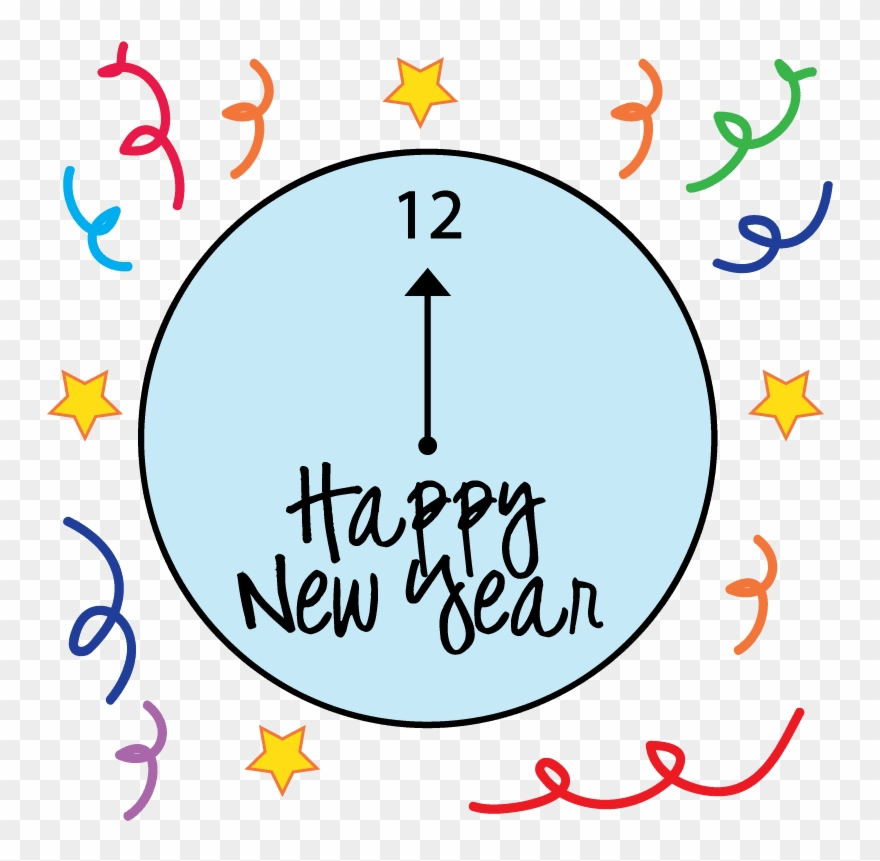 Clocks clipart new year. Happy animated emoticons for