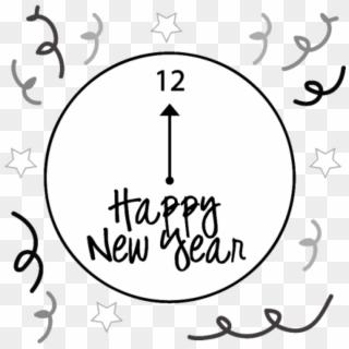 Clocks clipart nye. New years eve png