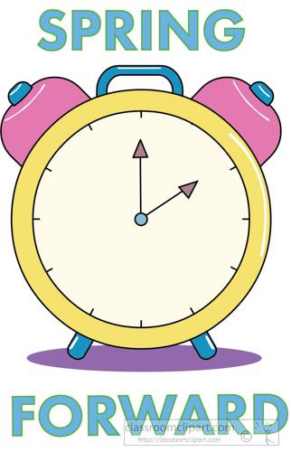 Clocks clipart spring. Foward clock time portal