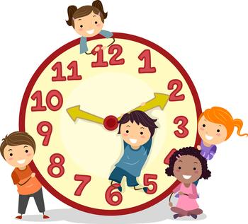 Kinder cuteness alert saint. Clock clipart student