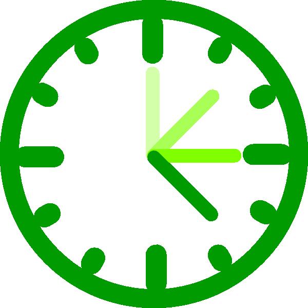 Clock clipart teacher. Awesome green clip art
