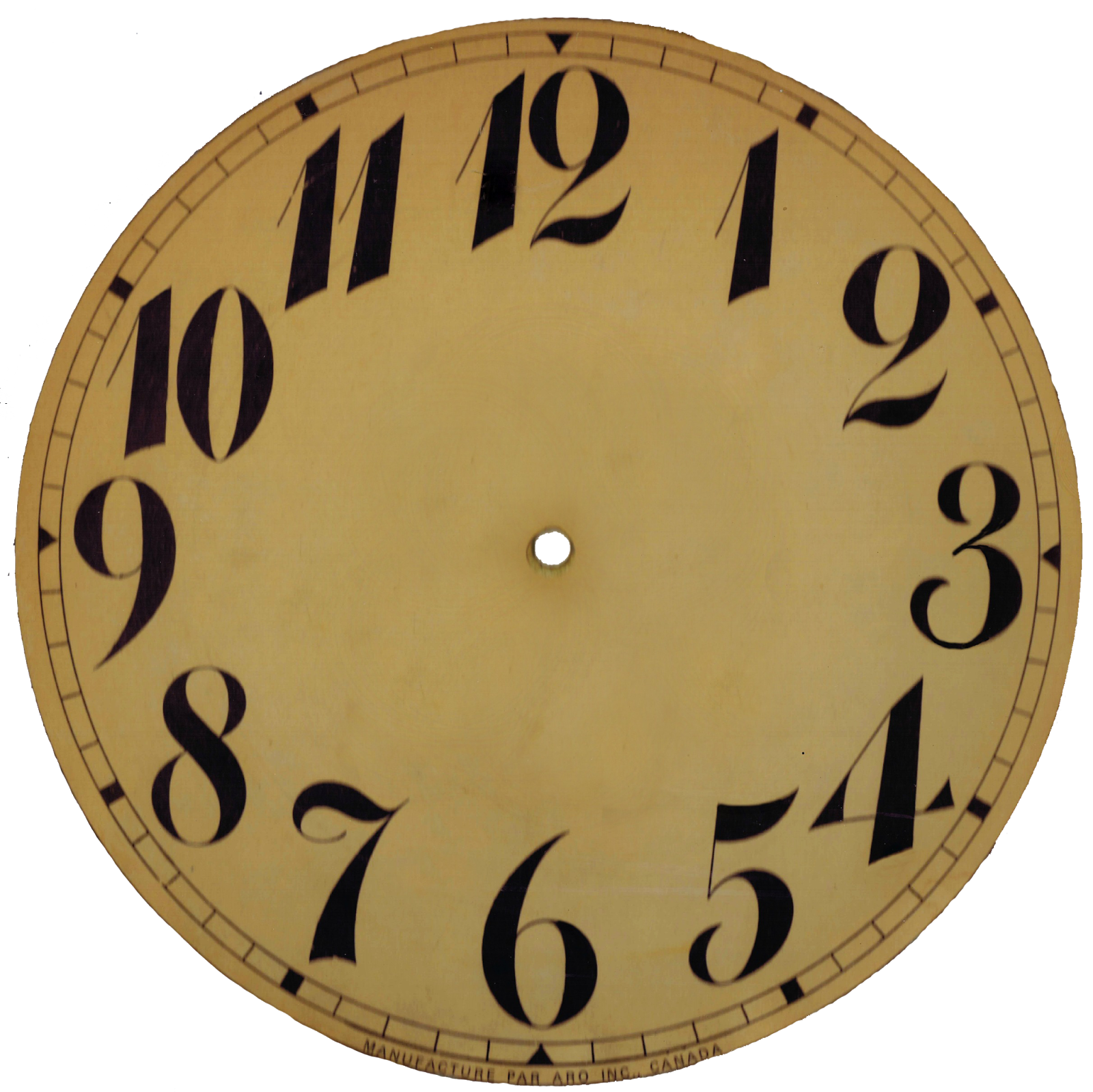 Clocks clipart 7 o clock. Farewell hello vintage face
