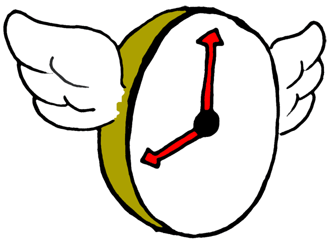 Clock clipart time travel. Traveltourswall com clip art