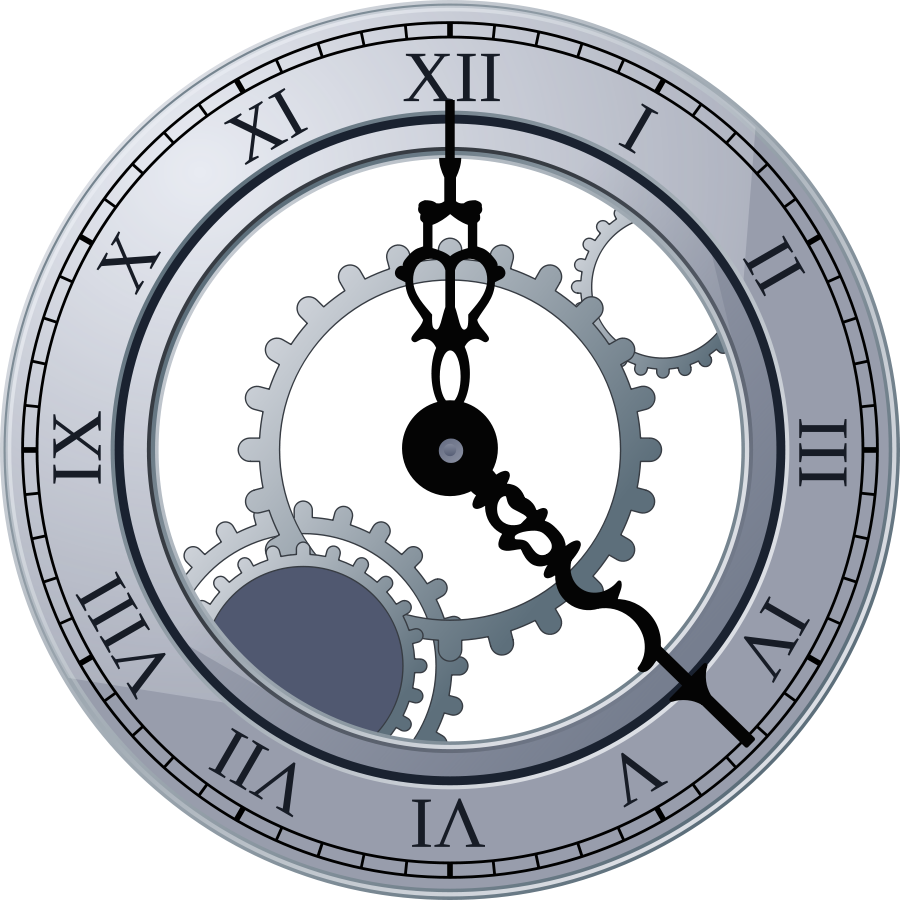 Gears clipart watch gear. Clock png transparent images