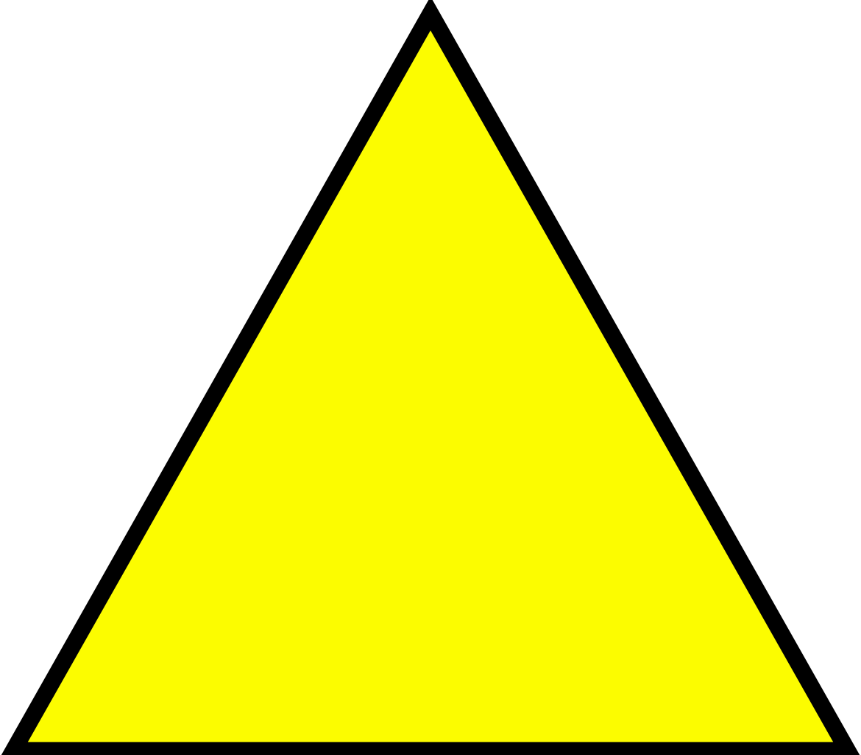 File yellow svg wikimedia. Clock clipart triangle