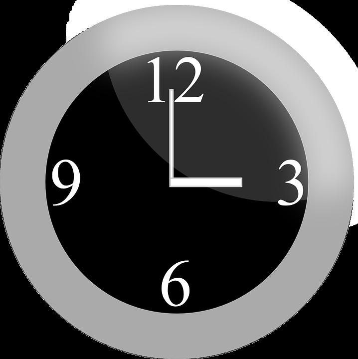 Timer blank analog frames. Clock clipart vector