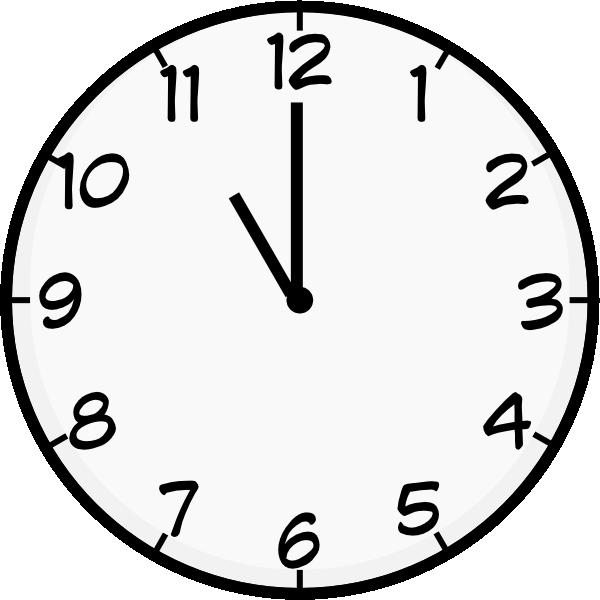 Clock clipart vector. O