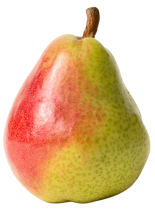 Red and png best. Pear clipart yellow pear