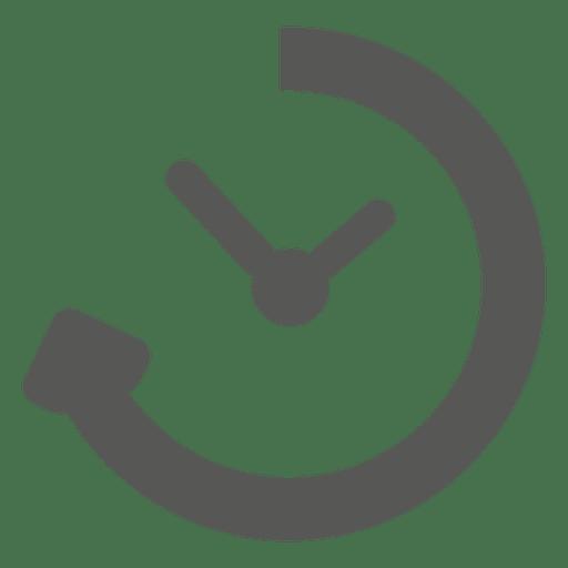 Reloading timer transparent svg. Clock icon png