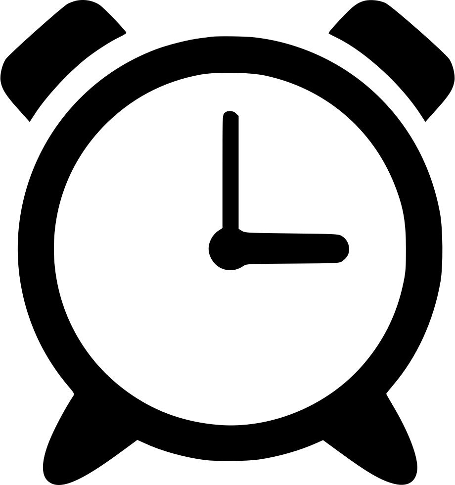 Clock icon png. Alarm svg free download