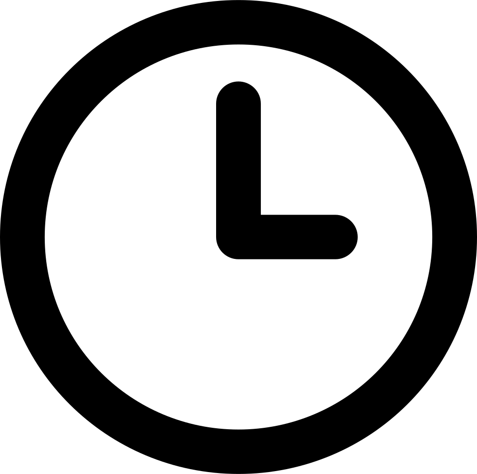 Clock icon png. Svg free download onlinewebfonts
