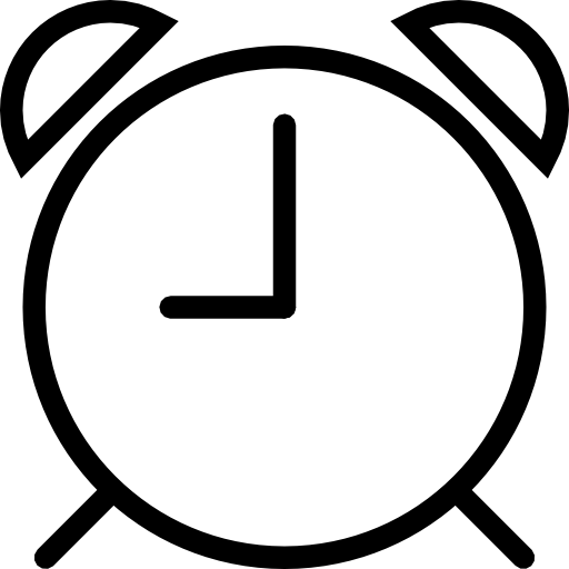 Clock vector png. Alarm icon download free