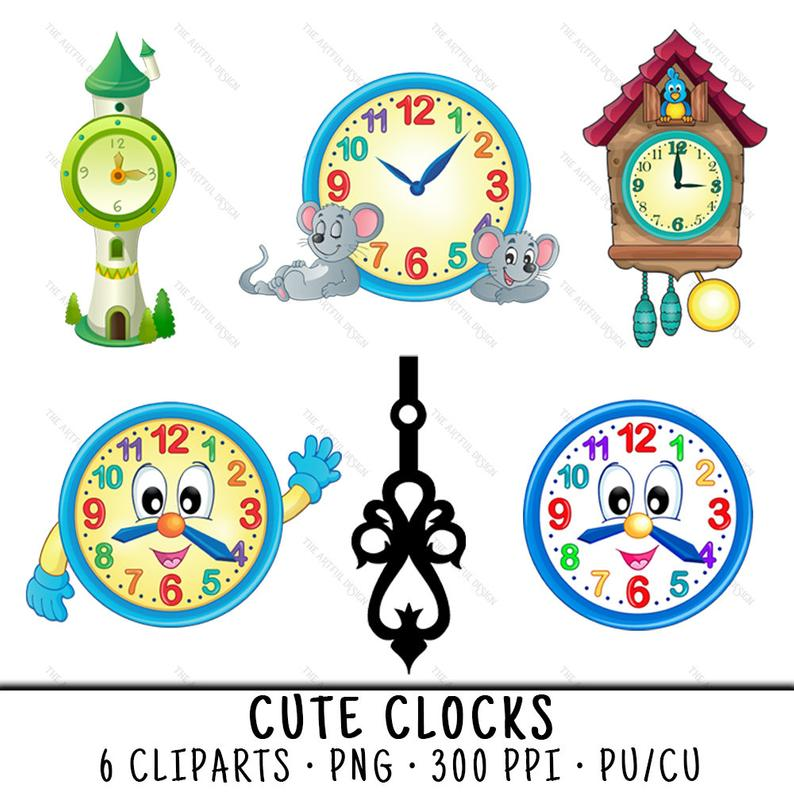 Clipart Clock Cute Clipart Clock Cute Transparent Free For