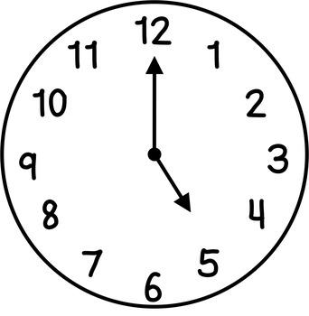Clocks clipart. Clip art hour half