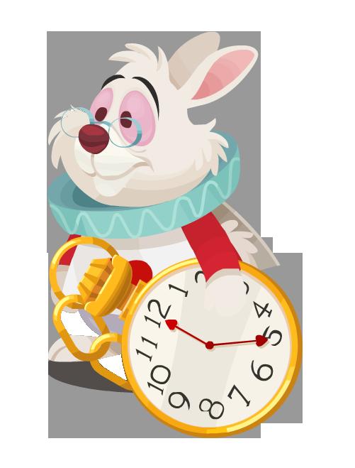 Image white kingdom hearts. Clocks clipart alice in wonderland rabbit