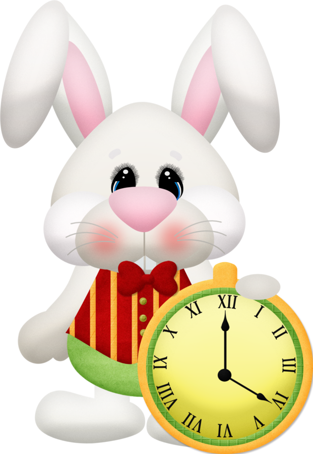 Kit minus no pa. Clocks clipart alice in wonderland rabbit