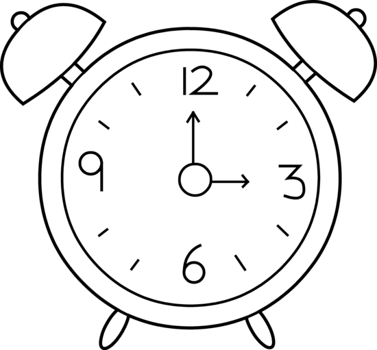 Free clock images download. Clocks clipart black and white