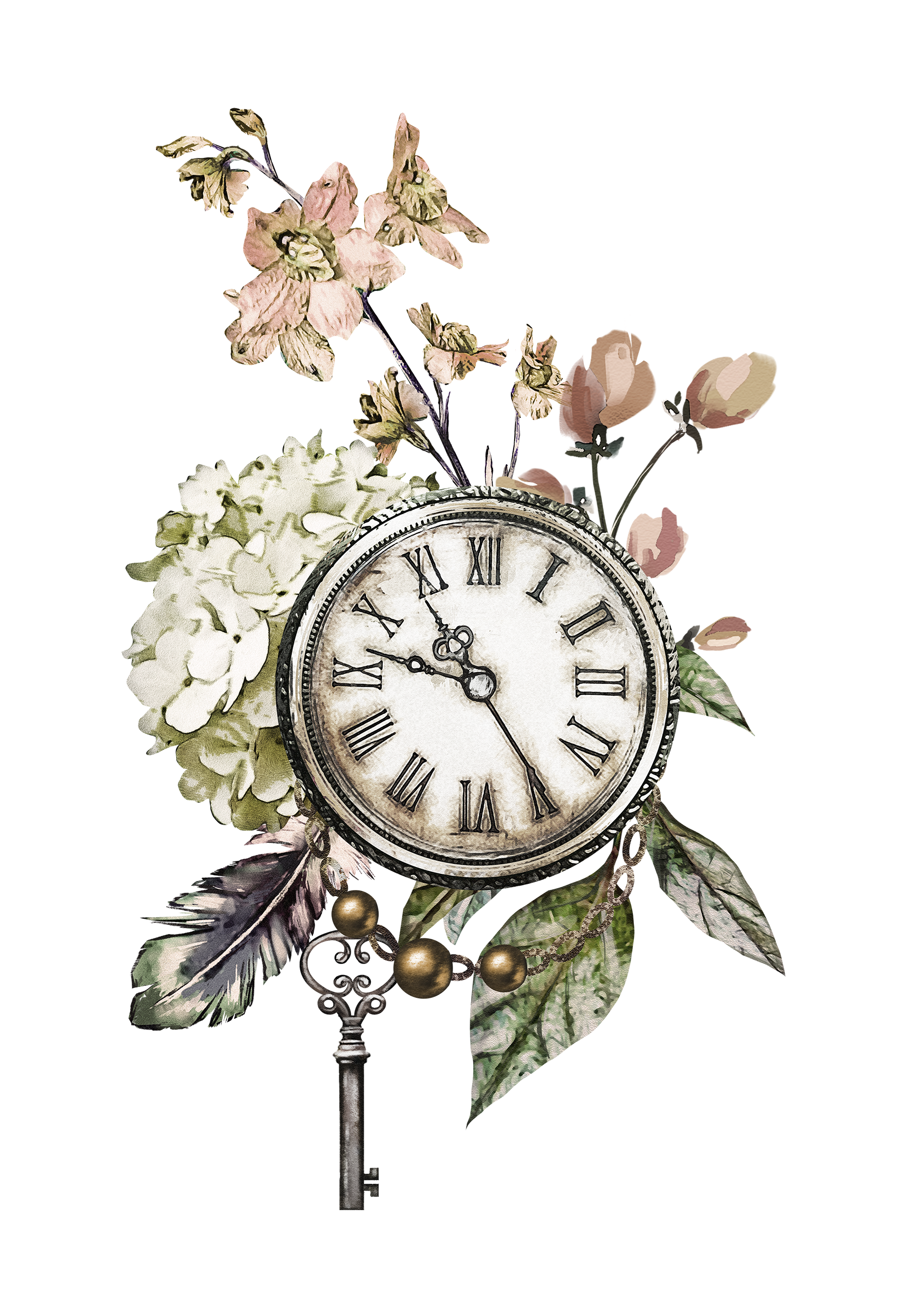 clocks clipart borders