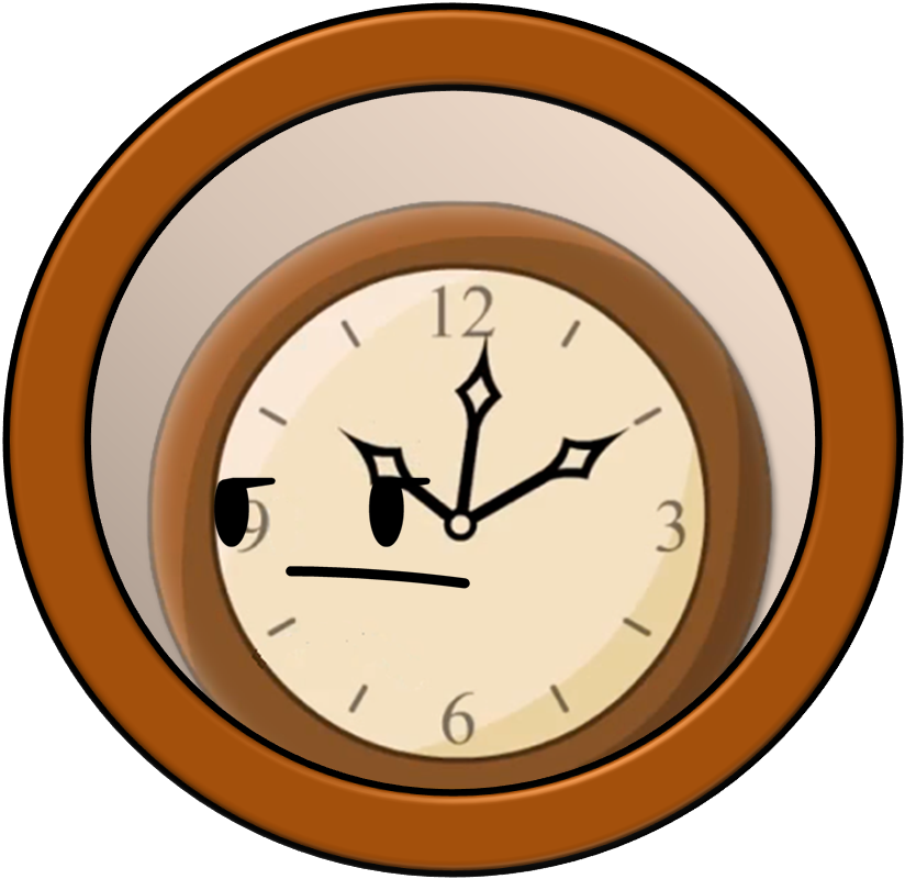 Bfdi a recommended characters. Clocks clipart character