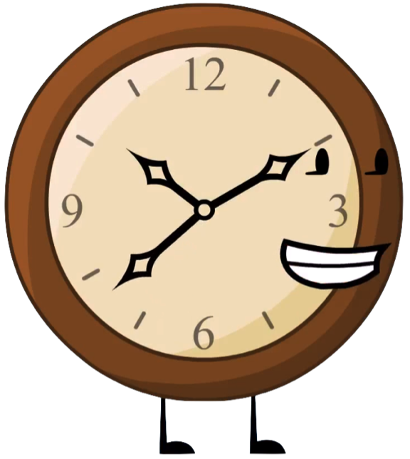 Image clock png battle. Clocks clipart character