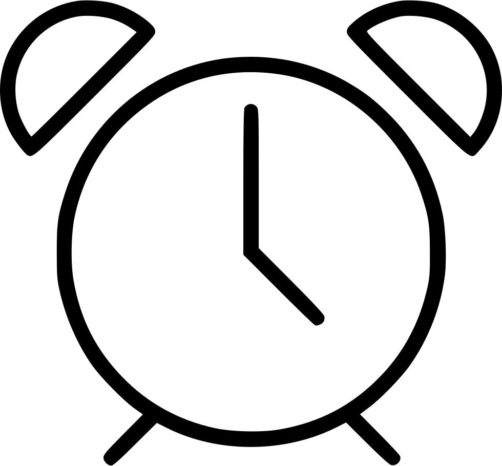 Accurate alarm chronometer clock. Clocks clipart deadline