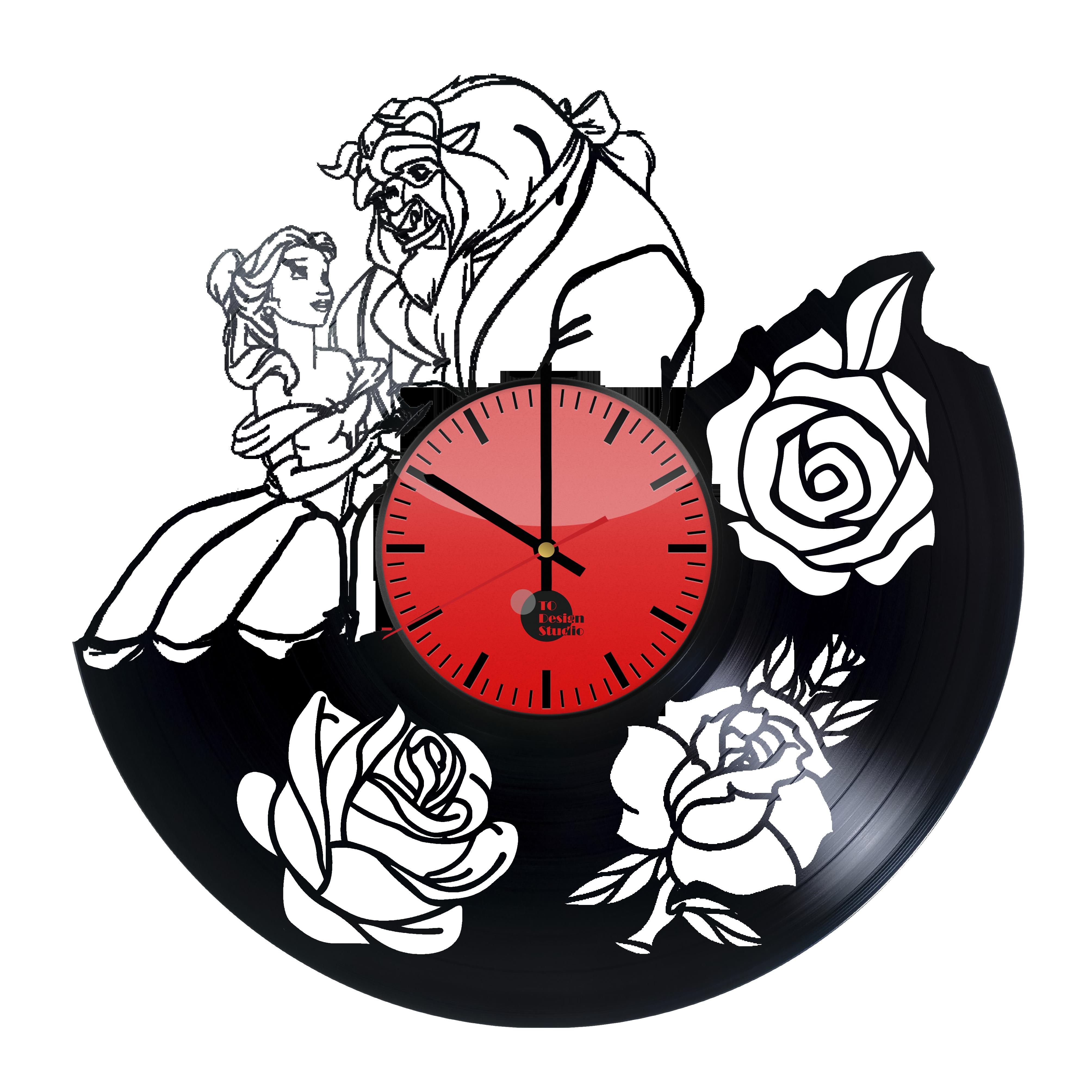 Clocks clipart deadline. Beauty and the beast