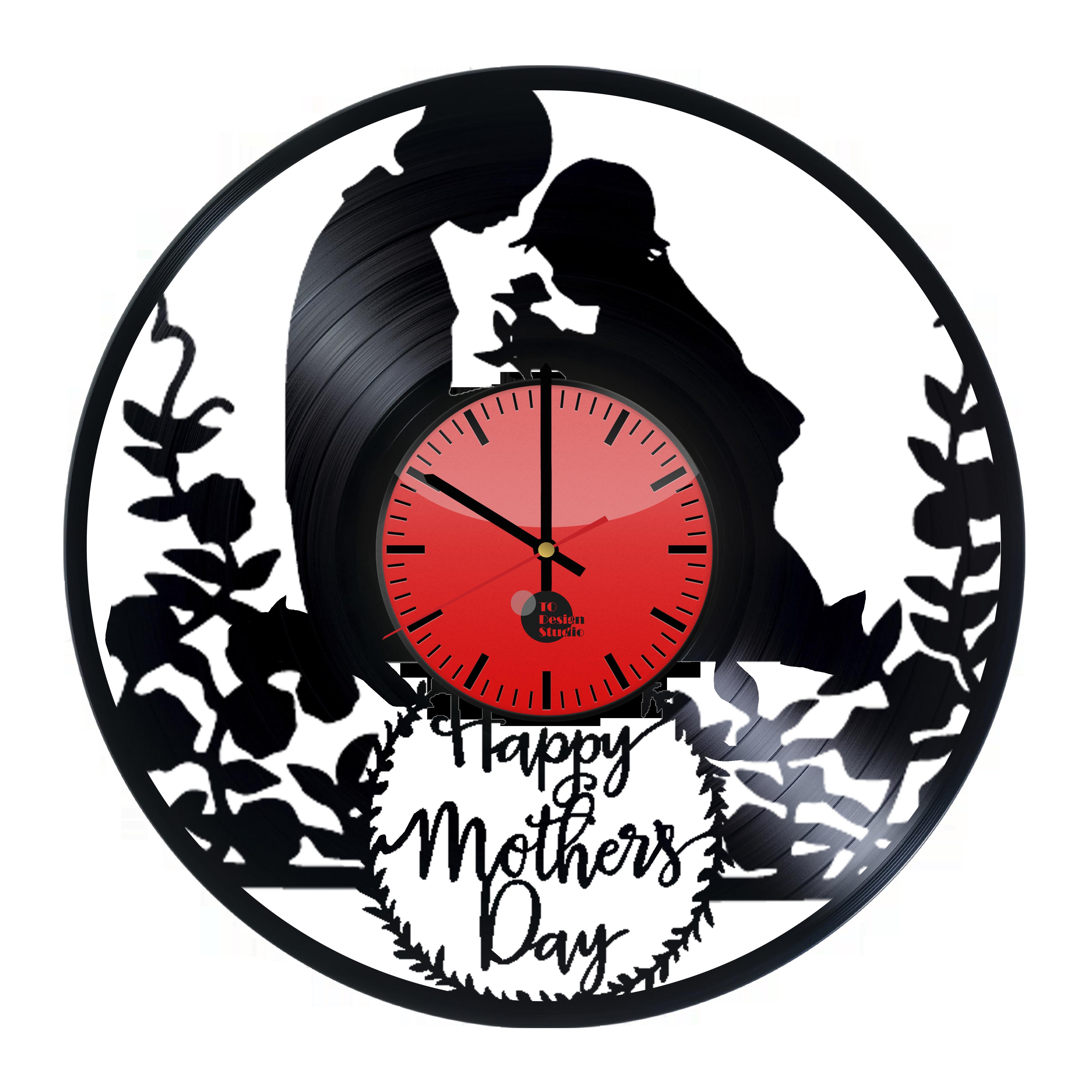 Mother s day handmade. Clocks clipart deadline