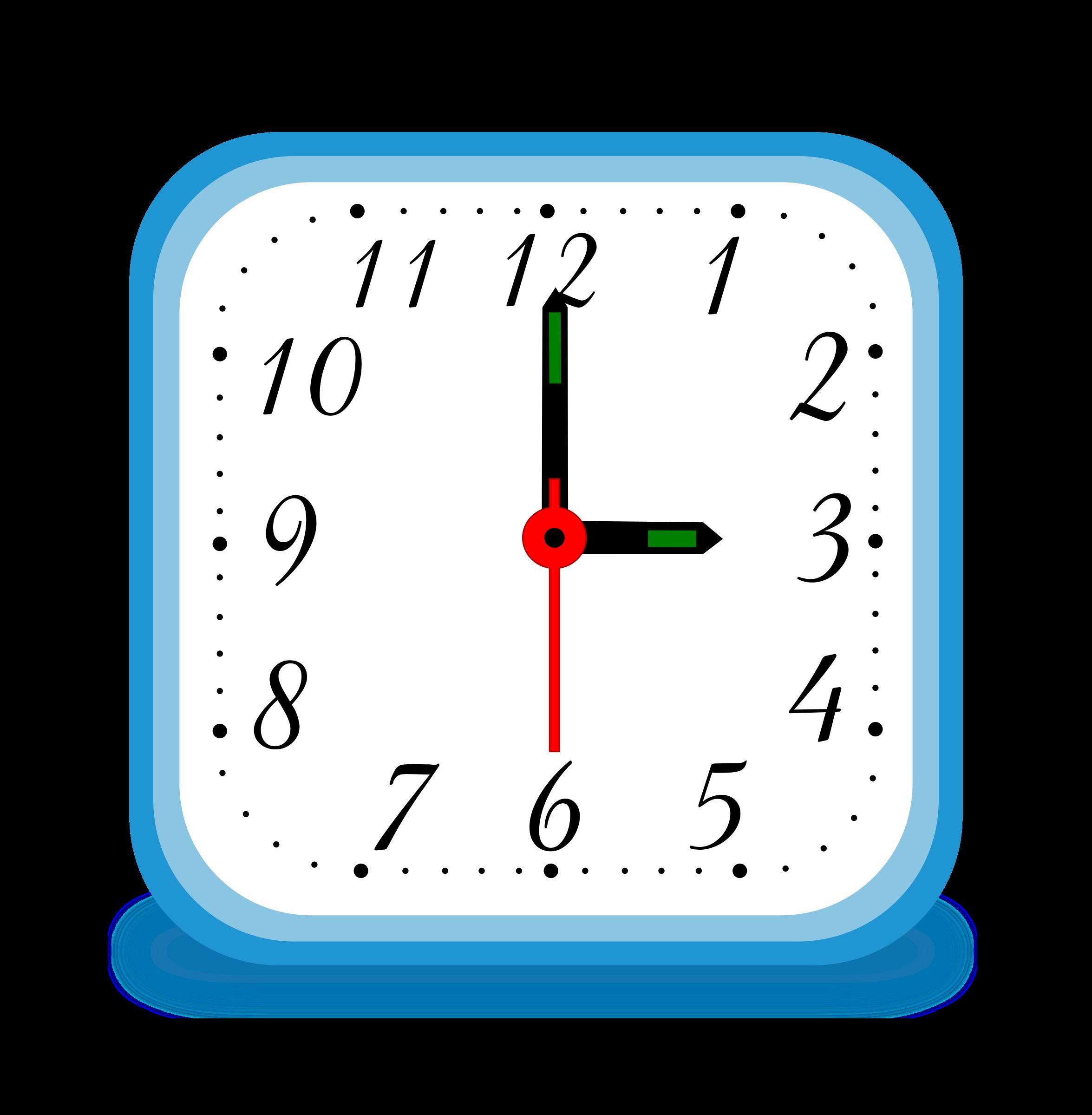 . Clocks clipart digital