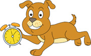 Search results for clock. Clocks clipart dog