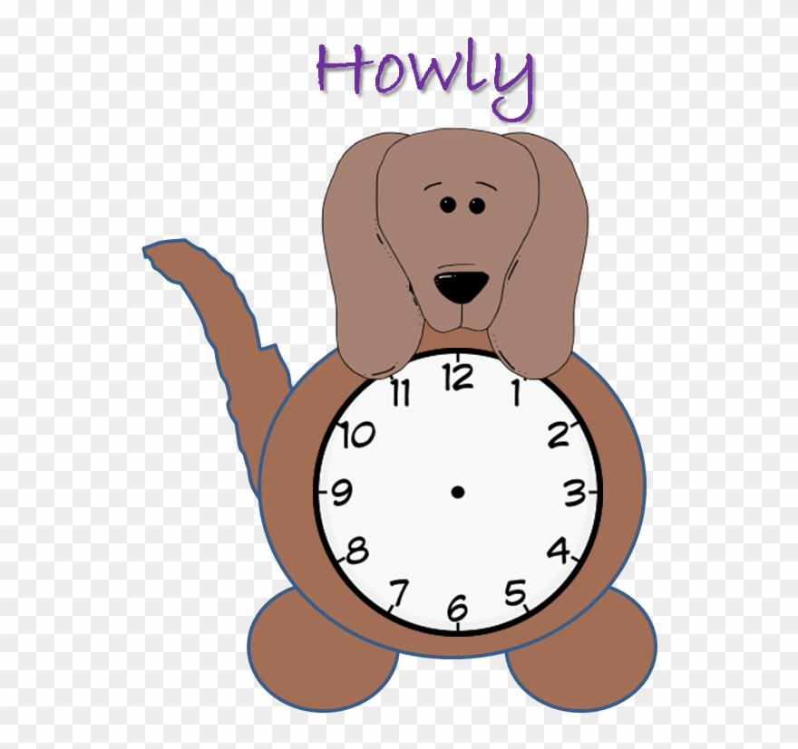 Clocks clipart dog. The average teacher explains