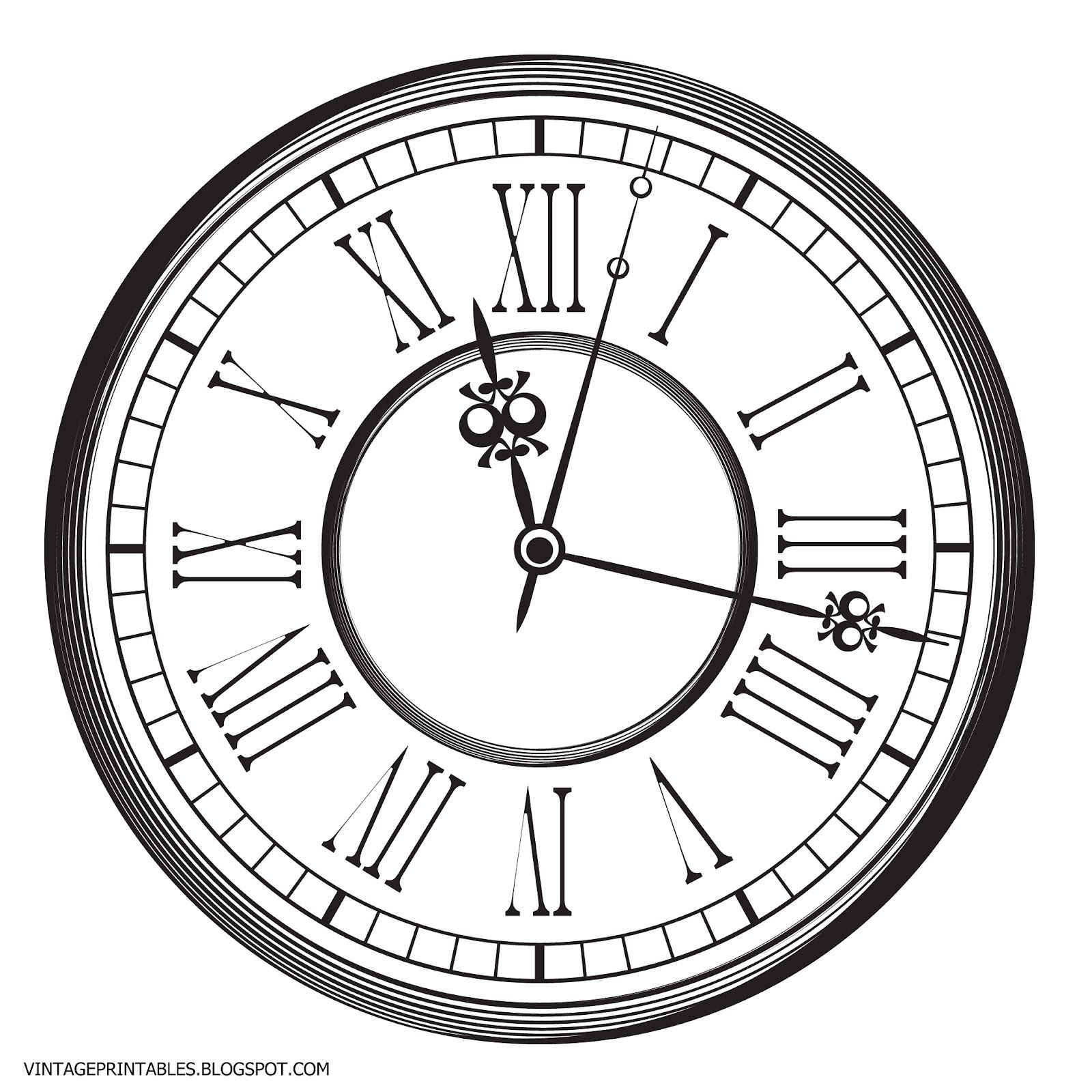 Steampunk clipart classic clock. Free vintage clip art