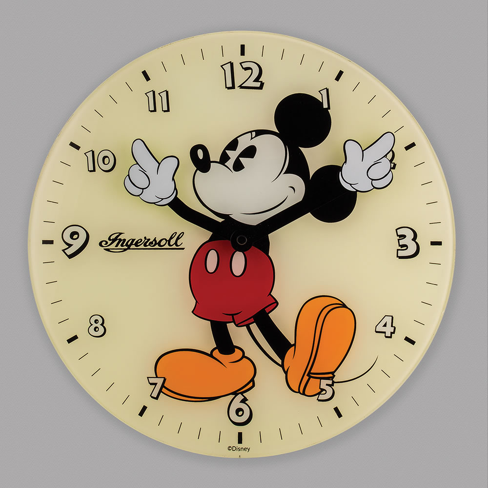 Clocks clipart mickey. The classic mouse wall