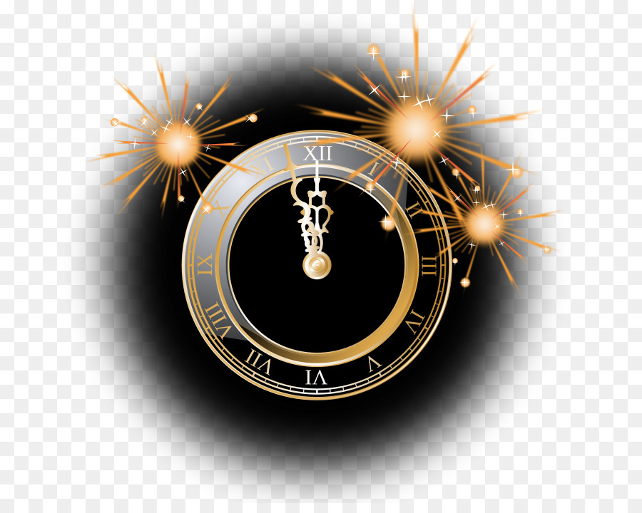 Clocks clipart nye. Christmas and new year
