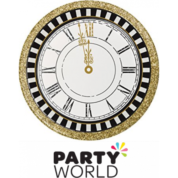 Clocks clipart retirement. Midnight celebration clock paper