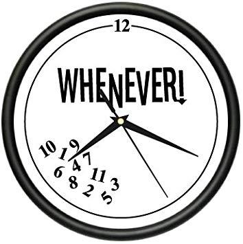 Whenever wall clock retired. Clocks clipart retirement