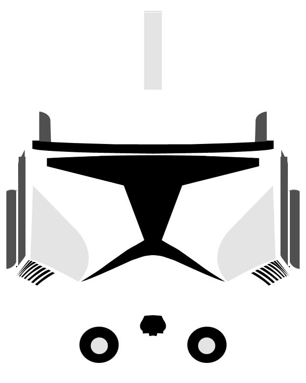 Clone trooper helmet png. Variant by pd black
