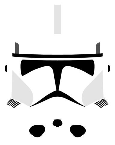Clone trooper helmet png. Image phase ii by