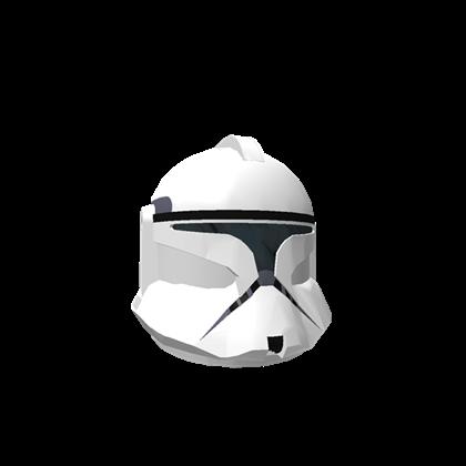 Roblox. Clone trooper helmet png