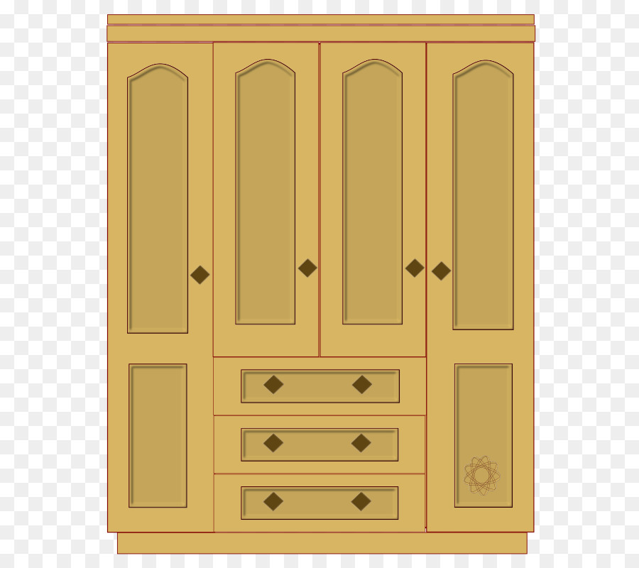 Pantry armoires wardrobes clip. Closet clipart