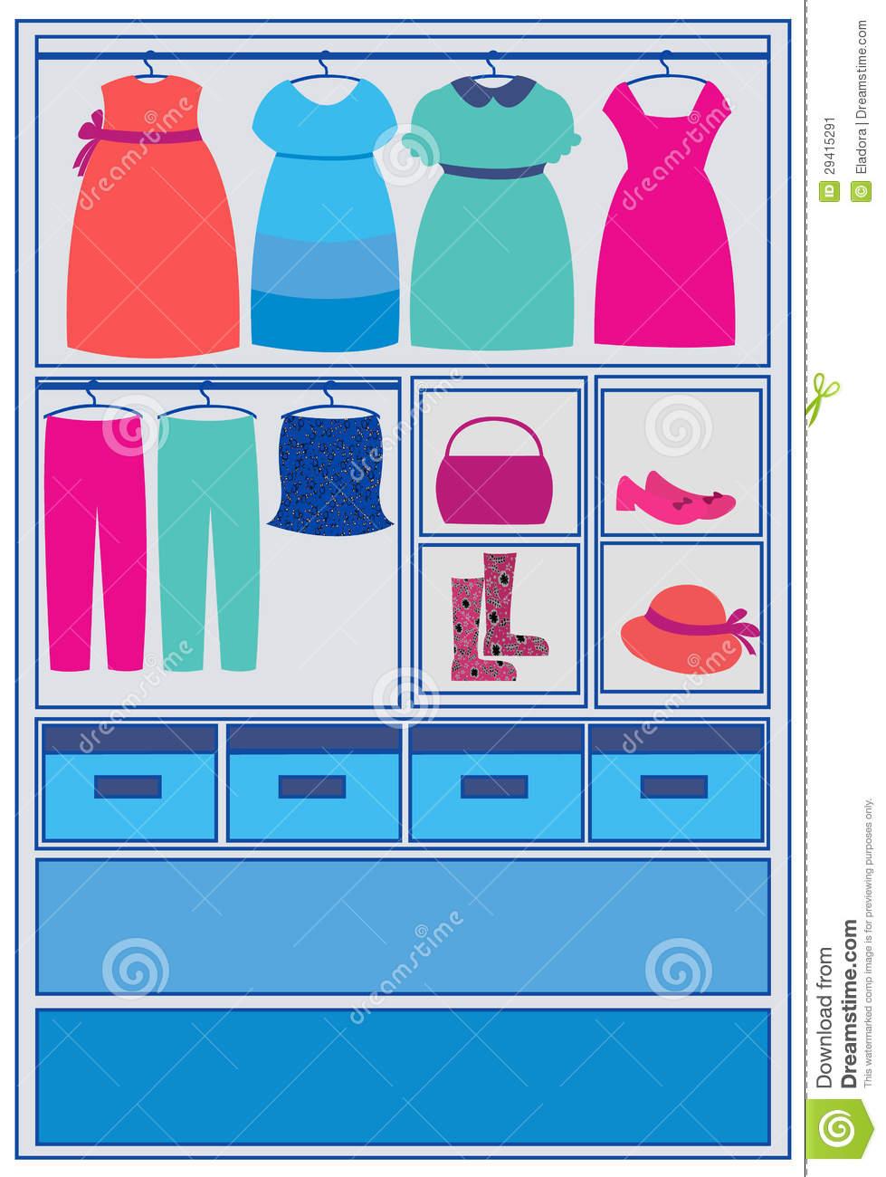 Fashion . Closet clipart