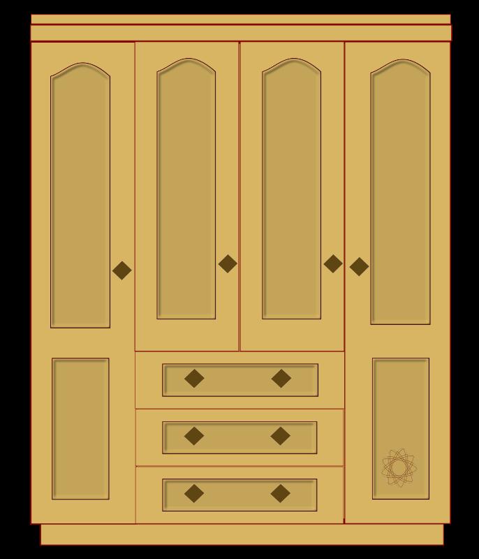 Dresser clipart cubboard. Free empty closet cliparts