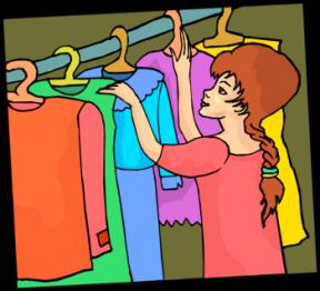 Clothing clipart coat closet. Free clothes cliparts download