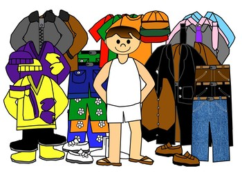 Get clothes in clip. Closet clipart boys